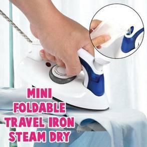 Seterika Lipat Travel Folding Mini Iron (2)