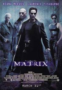 Poster MOVIE MATRIX Keanu Reeves