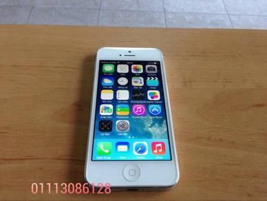 Iphone 5 16gb full box set ll murah