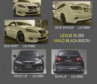 Is250 is 250 wald black bison bodykit body kit lip