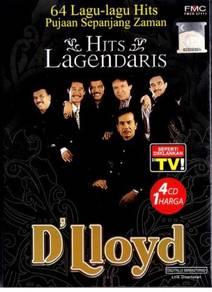 D'Lloyd Hits Lagendaris 4CD 64 Lagu-Lagu Hits