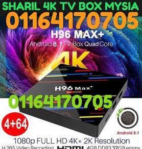 HIGH SPEC MYSIA max 2GB+4GB+64GB TV BOX 4K