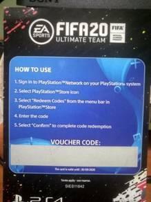 Voucher code Fifa 20
