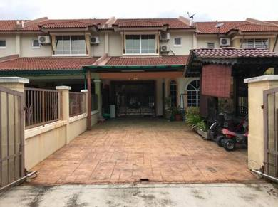 Double Storey Terrace House Garden City
