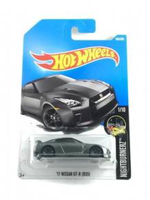 Hotwheels Nissan Skyline GT-R (R35) '17 #1 Grey