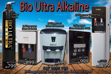 FILTER AIR PENAPIS ~ Bio ULTRA [AJW8] Alkali WATER