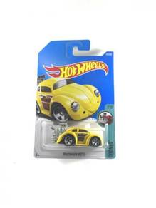 Hotwheels 2017 Tooned Volkswagen Beetle #7 Yellow