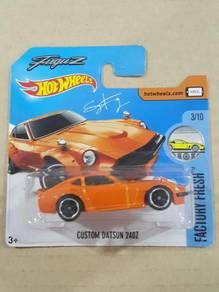 Hot Wheels Custom 240Z Orange Short Card