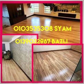 Papan Lantai Laminate 8mm & Vinyl Floor 3mm