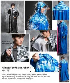 Raincoat Long aka Jubah II