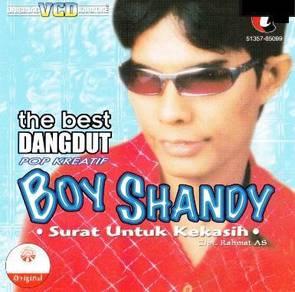 Boy Shandy–The Best Dangdut VCD Karaoke