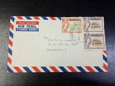 Cover Sabah SANDAKAN 1965 X156