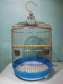 C307 Chrome Dome Bird Cage Sangkar Burung 39x45cm