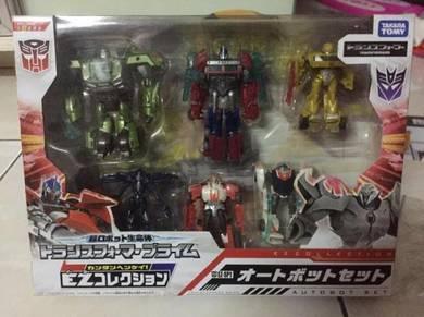 Transformers Takara EZ Collection Set of 6 Optimus