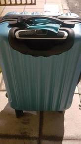 Luggage Trolley Bag 4 wheel blue