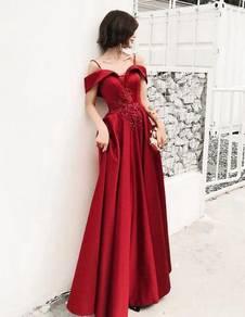 Red wedding evening prom dress gown RBP1336