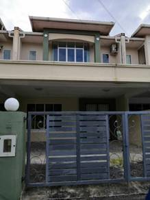 Double Storey Intermediate Terrace 7 Mile nearby Airport for Sale