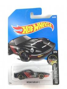Hotwheels Nissan Fairlady Z #3 Advan Black