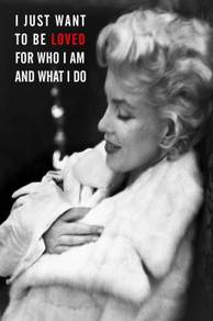 Poster MARILYN MONROE QUOTES 1