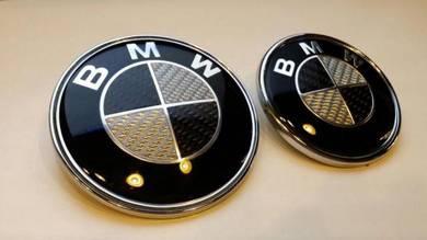 BMW Carbon Front Rear Logo Emblem