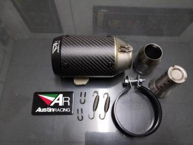 Austin racing carbon fiber Ekzos exhaust