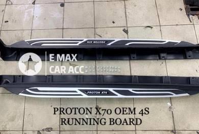 Proton x70 4s running board door side step origina