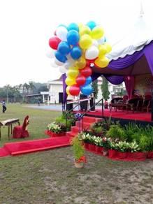 Colourful gimmick balloon