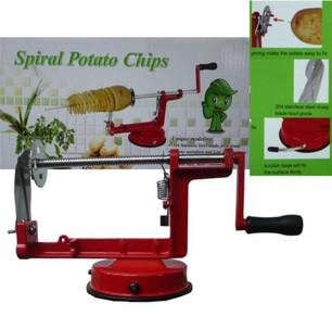 Spiral Potato Slicer / Mesin kentang spring