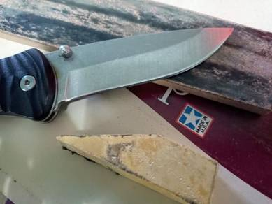 Asah/Sharpening Pisau & Parang