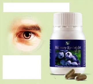 BlueBerry (Penglihatan Vision ) 90 Caps (mata+Heal