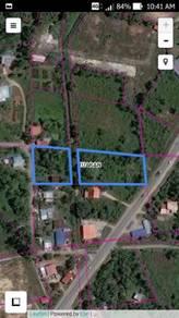 Land beside Tuaran - Kota Belud Main road
