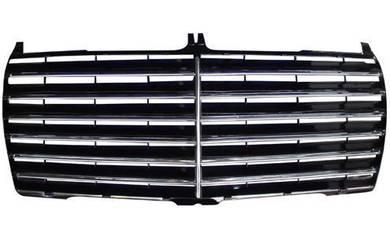 Mercedes Benz W124 Inner Black Grille W/O Frame