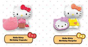 Happy Meal Toys - Hello Kitty / Angry Bird / Smurf