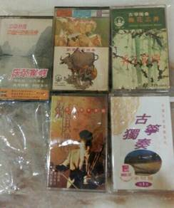 Traditional Chinese Music Casette (5 pcs)