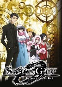 DVD ANIME Steins Gate O Ep 1-23 End