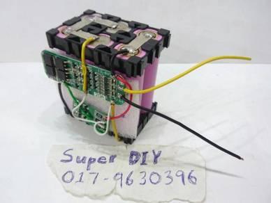 Battery pack Li-ion 18650 DIY awak ckp sy buatkan
