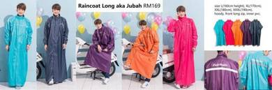 Raincoat Long aka Jubah