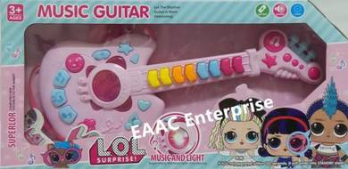 LOL Girls Design Music Guitar Toy with Music Light