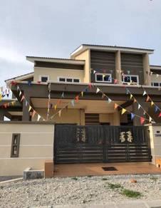 Desa Pengkalan Mutiara Double Storey Terrace 22x70 (New)