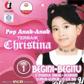 Christina–Pop Anak–Anak Terbaik VCD Karaoke