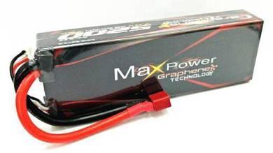 Maxpower Graphene Lipo 5200mAh 2s 7.4v 75c