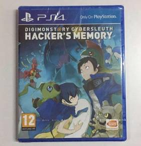 PS4 Game DIGIMON STORY CYBER SLEUTH HACKERS MEMORY