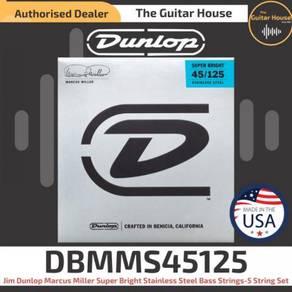 Jim Dunlop DBMMS45125 Marcus SupBright Bass 45-125