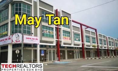 Juru New Shoplot at 1 City near Auto City Bukit Minyak Industrial Park