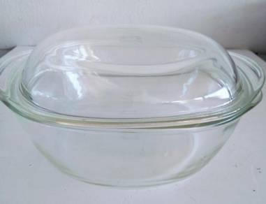Schott & Gen Mainz Jena glass casserole