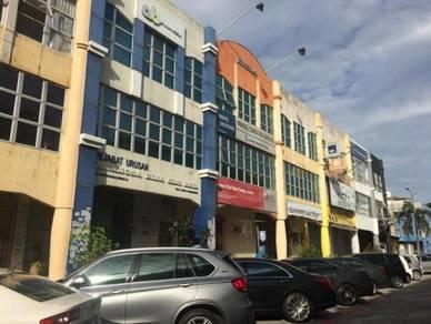 Subang Usj 3 Storey Shoplot , Freehold , Tenanted