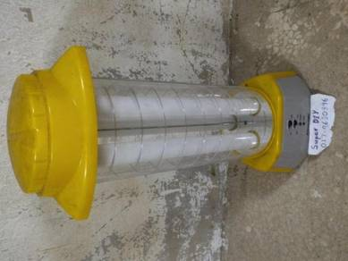 Lampu camping rechargeable AC 220V lantern yellow