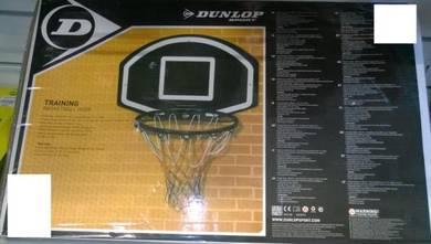 Dunlop Basketball Board and Net (Bola Keranjang)