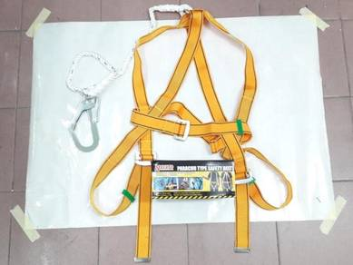 Full Body Safety Harness with Large Hook