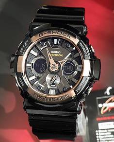 Watch - Casio G SHOCK GA200RG BLACK ROSE -ORIGINAL
